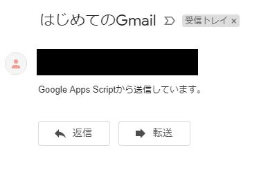 メール送信後