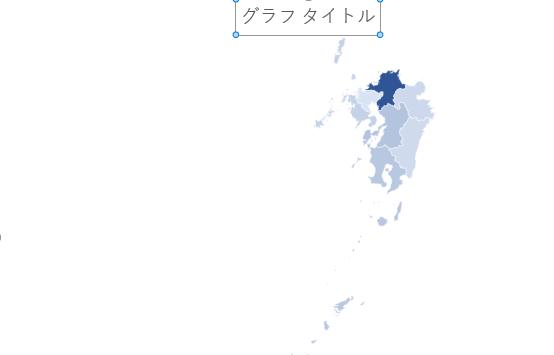 九州のみの地図